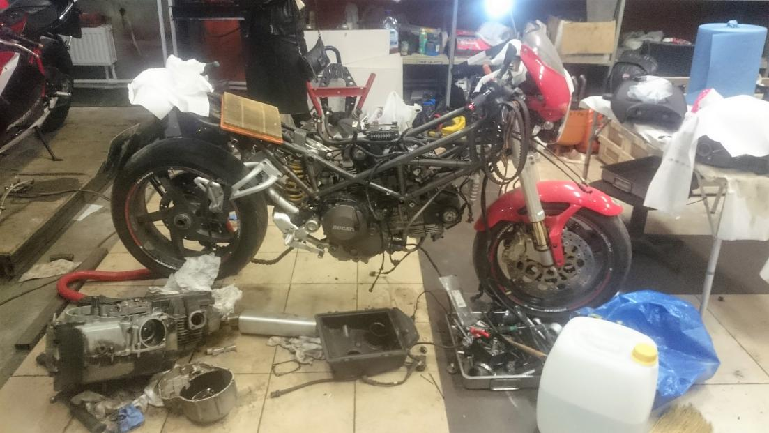 S2R 800 swap in S2R DS1000 engine with 800 ECU - Page 3 ...